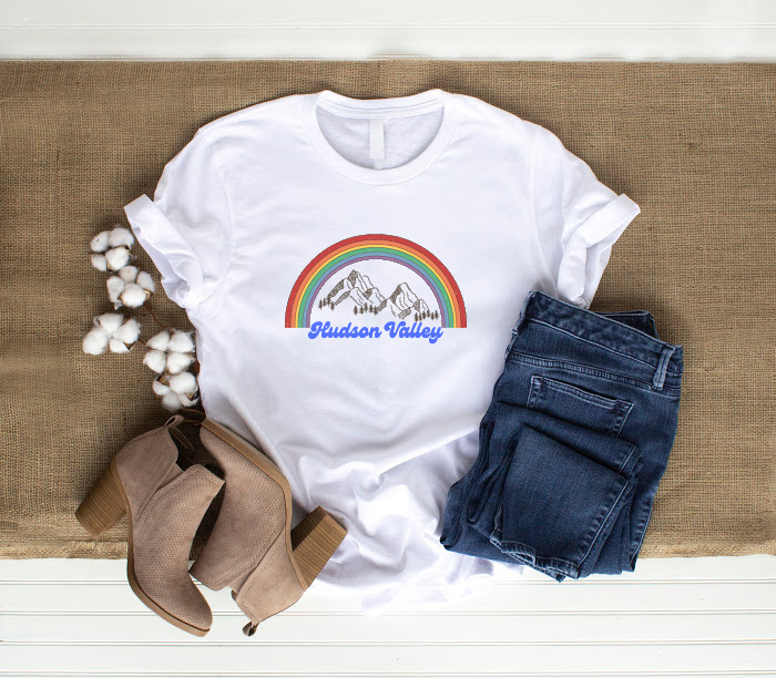 Hudson Valley with Rainbow T-Shirt
