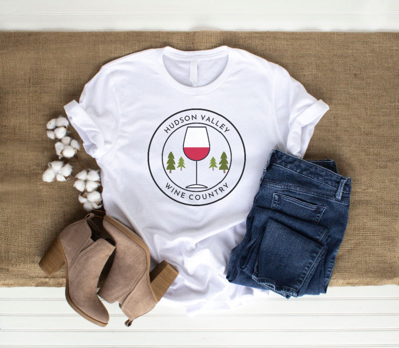 Hudson Valley Wine Country T-Shirt