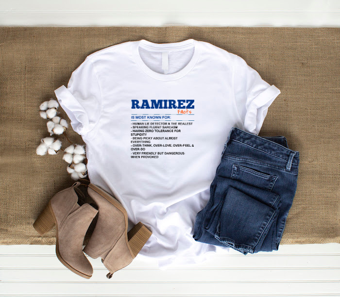 (Last Name) Facts T-Shirt (Customize Yourself)